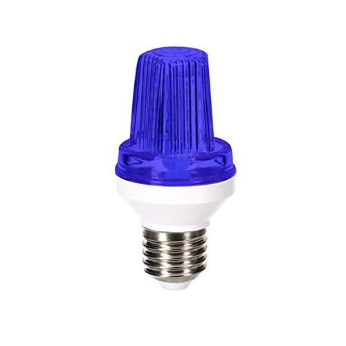 HQ-Power HQPL11027 Mini LED-Stroboskop-Blitzer LED-Blitzleuchte E27-Fassung 3W Blau