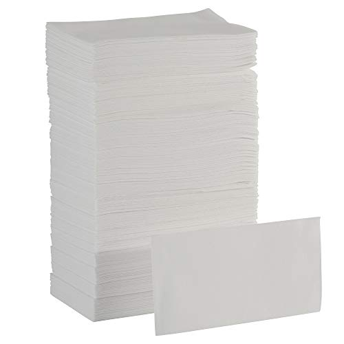 Dixie Ultra 1/6-Fold Linen Replacement Napkin by GP PRO (Georgia-Pacific), White, 92113, 200 Napkins Per Box, 4 Boxes Per Case (800 Total)