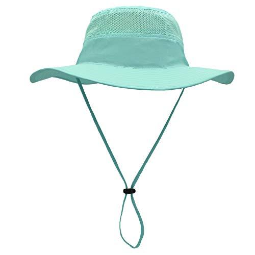 Outfly Wide Brim Sonnenhut Mesh Bucket Hut Leichtgewicht Bonnie Hut Perfekt für Outdoor-Aktivitäten