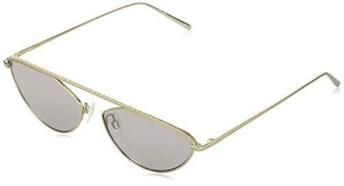 DONNA KARAN EYEWAR DK109S Gafas de sol, Gold, 55 MM, 16 MM, 135 MM para Mujer