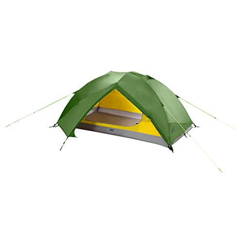 Jack Wolfskin Skyrocket II Dome Outdoor 2 Personen Kuppelzelt Zelt, Cactus Green, ONE Size