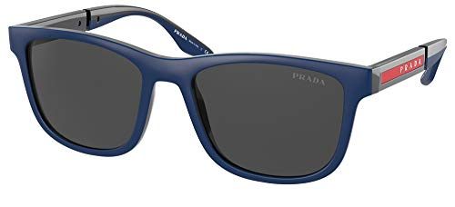 Prada Gafas de Sol Linea Rossa LINEA ROSSA SPS 04X Navy Rubber/Dark Grey 54/18/145 hombre