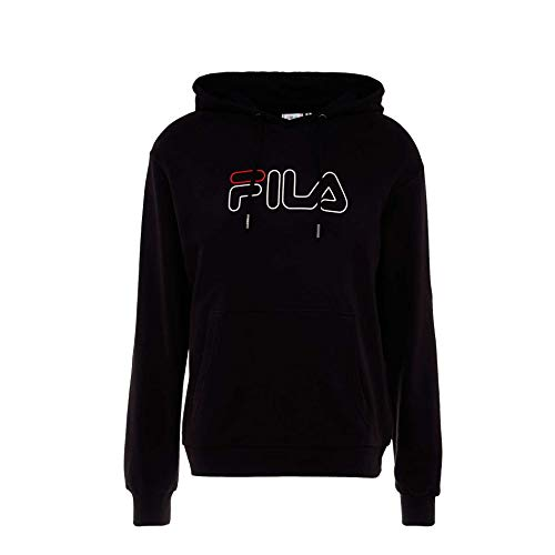 Fila 687125−2 Sweatshirt à Capuche, Negro, S Homme