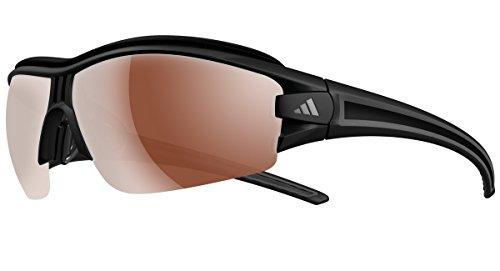adidas Eyewear Evil Eye Halfrim Pro XS Polarized, matt schwarz, Antifog Größe