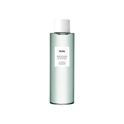 Huxley Secret of Sahara Cleansing Water Be Clean Be Moist 6.76 fl. oz. | Korean Cleansing Make Up Remover | Hydrating Cleanser (New Package)