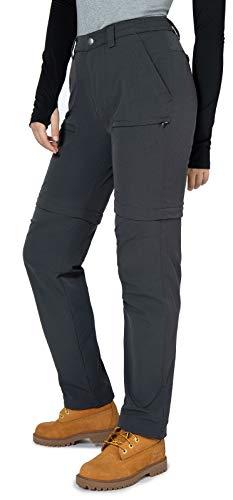 Vzteek Pantalones de trekking para mujer, pantalones de senderismo, pantalones cortos, largos,...
