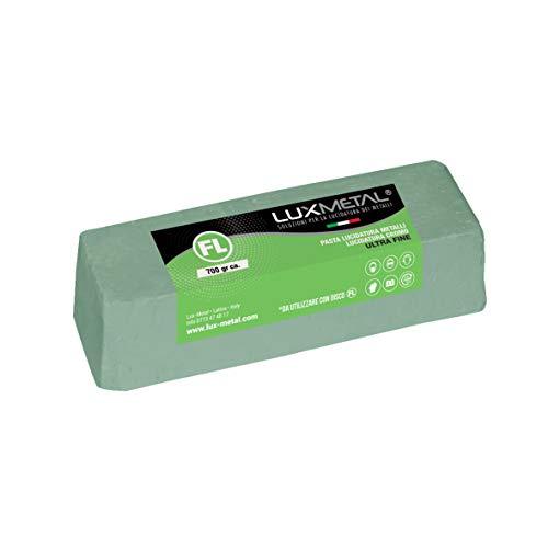 Pasta abrasiva Lux Metal Verde Ultra Fine 700 gramos pulido para aluminio...