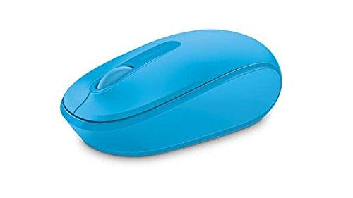 Microsoft Wireless Mobile Mouse 1850 (Maus, zyanblau, kabellos, für Rechts- und Linkshänder geeignet)