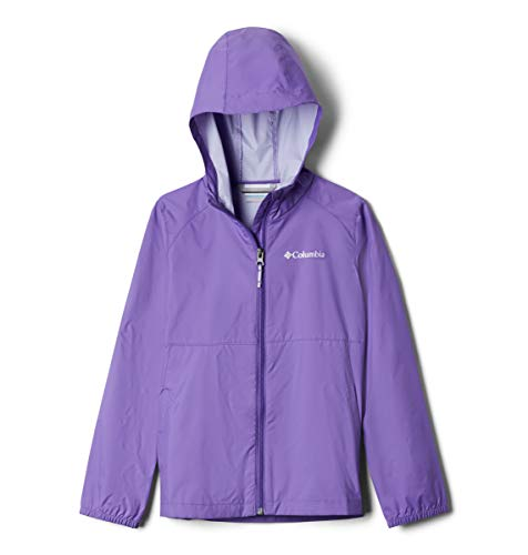Columbia Girls' Little Switchback II Jacket, Grape Gum, Small