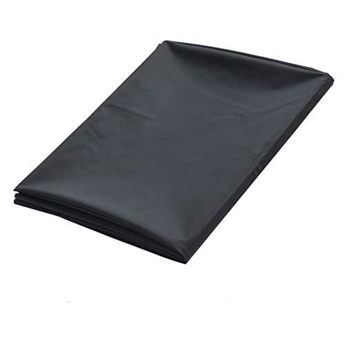 Gretrue Massage öl Sex spannbettlaken ,Wasserdichtes und hypoallergenes PVC-Vinyl für Erwachsene-Schwarz 2,2 * 2 m