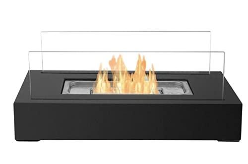 S.O Home Choice Tabletop Bio Ethanol Rectangle Fireplace- Burner- Heater