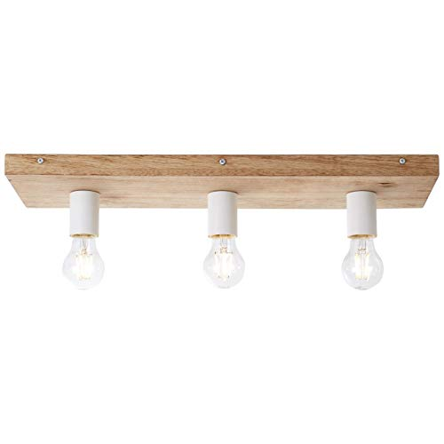 BRILLIANT PANTO Deckenleuchte 58 cm Holz/Metall Holz ...