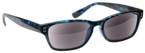 UV Reader Azul Carey Lectores De Sol Gafas De Lectura UV400 Hombres Mujeres UVSR005 Dioptria +2,00