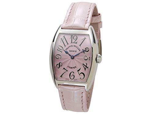 フランクミュラー FRANCK MULLER トノーカーベックス レリーフ 7502QZ クロコダイル レディース 腕時計 新品 [並行輸入品]