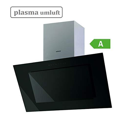 edesa ECV-9831 GBK Plasma kopffreie Umluft-Dunstabzugshaube Abzughaube 850 m³/h 90 cm 4 Stufen Turbostufe ECO LED Touch