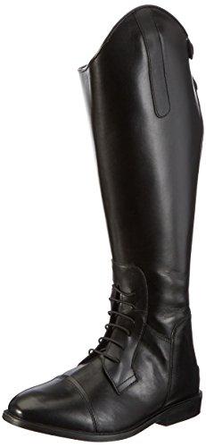 HKM Reitstiefel -Spain-, Softleder, kurz/weit, schwarz, 37