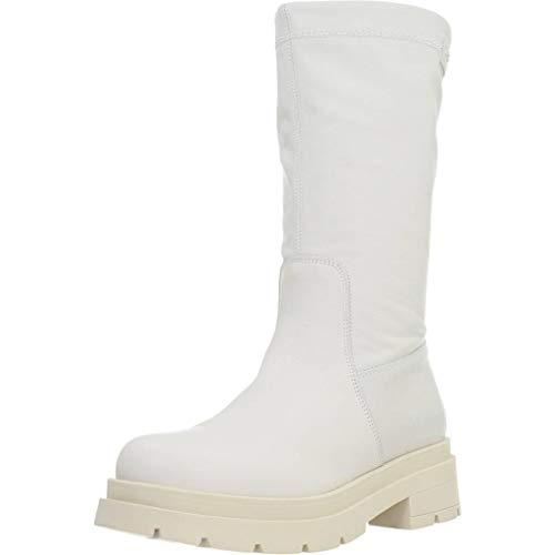 stivali bianchi Stivaletti NeroGiardini E116693D713 E116693 16693 Scarpe Donna in Pelle Bianco 38