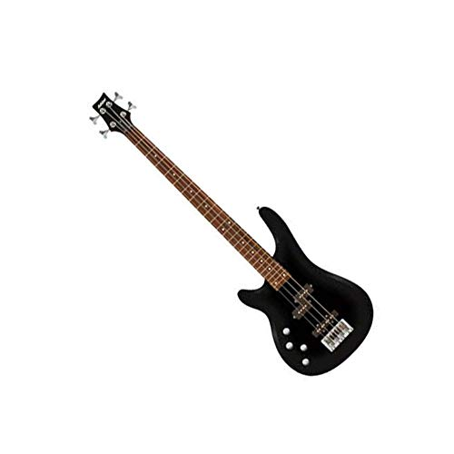 Ashton spab4lh Linkshänder Bass Gitarre Pack–Schwarz