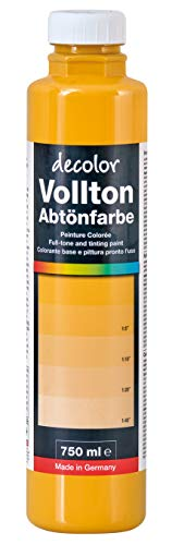 Decolor Abtönfarbe Goldocker