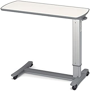 (代引き不可)パラマウントベッド ベッドサイドテーブル/KF-1920 アイボリー(ガススプリング式 ベッドテーブル 介護)