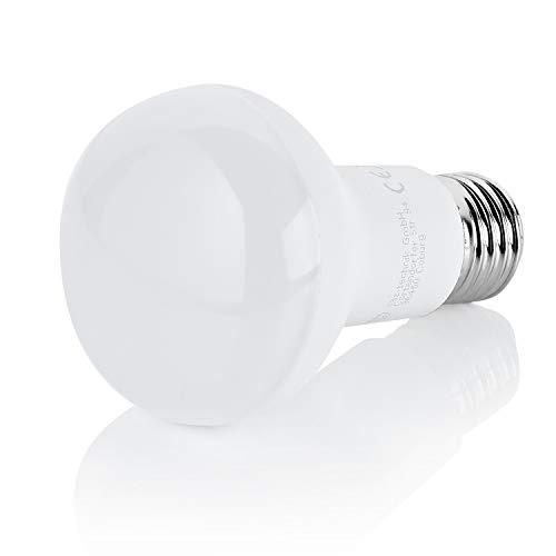 Sweet-led ® 4er x E27 R63 LED Lampe 8W 720lm Ersetzt 60W [LED Leuchtmittel warmweiß 3000K, 120°, E27 (4er set)