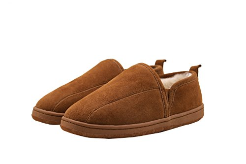 SUPERLAMB Men's Romeo Sheepskin Slippers (12)