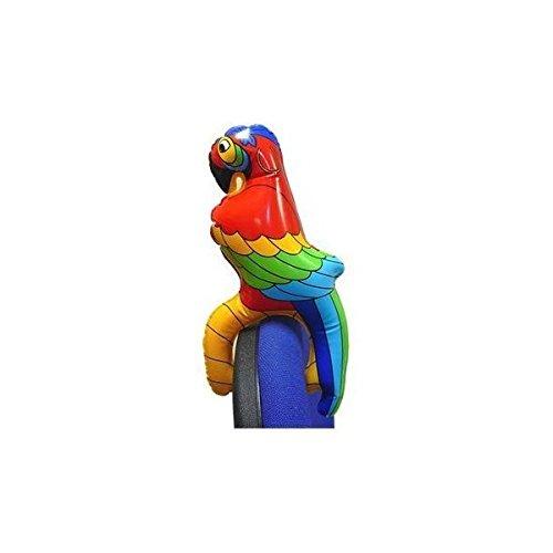 Perroquet gonflable - Accessoire de costume.