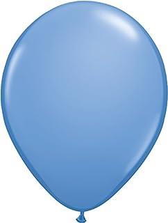 ゴム風船 Qualatexバルーン(ラウンド無地・ファッションカラー)ペリウィンクル 16インチ(直径42cm) 50個入り/袋