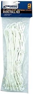 Champro Basketball Net, Anti-Whip (White, 21-Inch/7-Gram) by Champro