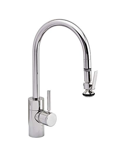 Best Prices! Waterstone 5800-PB Polished Brass Plp Pulldown Kitchen Faucet