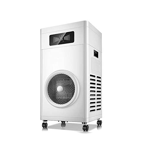 Zzmop Calentadores Industriales de 3300W,PTC Calentador Eléctrico con Control Remoto,Calefacción de Área Grande,Iones Negativos Purifican El Aire,para Tienda,Oficina,Hogar.