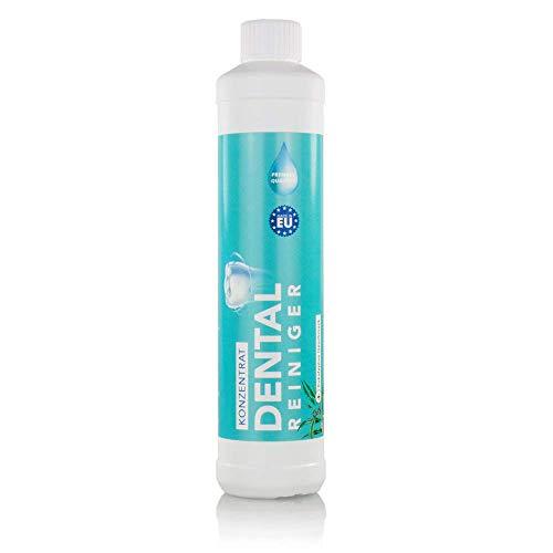 Dental Ultraschallreiniger Konzentrat 600ml – Reinigungskonzentrat für jedes Ultraschallreinigungsgerät für Zahnprothesen, Gebisse, Zahnersatz – Prothesenreiniger für das Ultraschallbad (600 ml)