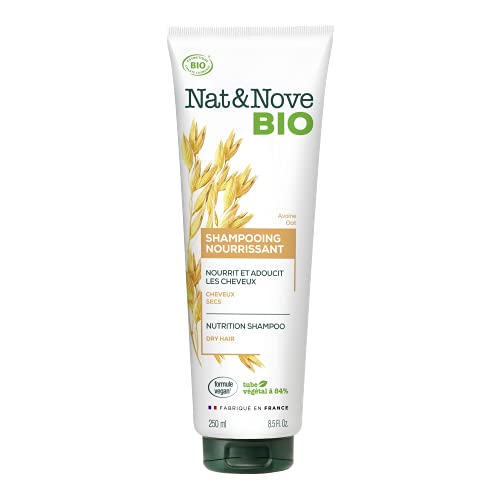 Keranove Naturanove - Champú BIO con Avena para cabellos secos   Cabello nutrido y suave.