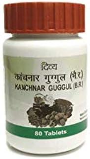 Patanjali Divya Kanchnar Guggul - 80 tabs ( Pack of 2 ) - by Exportmart