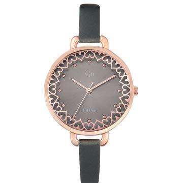 Go Girl Only Femme Uhr Analogique Quartz mit Cuir Armband 698807