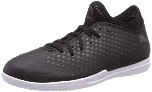 Puma Jungen Future 19.4 IT Jr Multisport Indoor Schuhe, Schwarz und Weiß, 28 EU