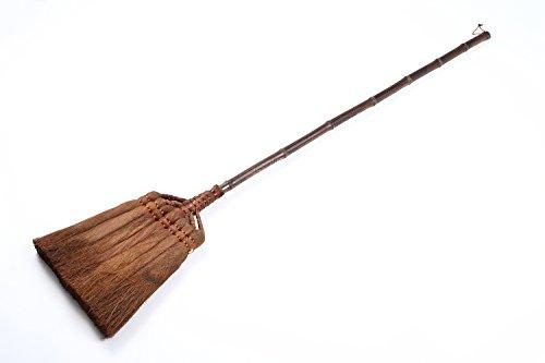 矢車印 棕櫚長柄箒七つ玉 【 しゅろ 棕櫚 ほうき 箒 和室 畳 座敷箒 室内 フローリング 】 …