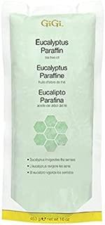 Gigi Paraffin Wax, Eucalyptus, 16 Ounce