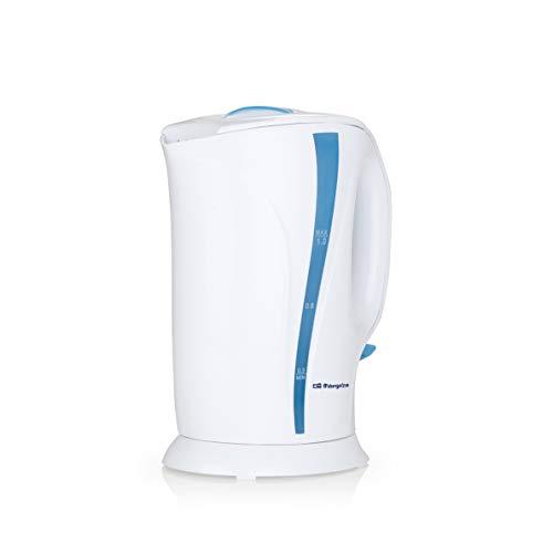 Orbegozo KT 5002 - Hervidor de agua eléctrico, 1 litro de capacidad,...