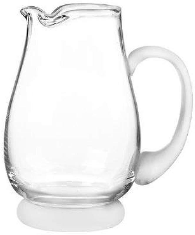 Qualia Q501108 Arctic 90 Oz Clear Glass Serving Pitcher