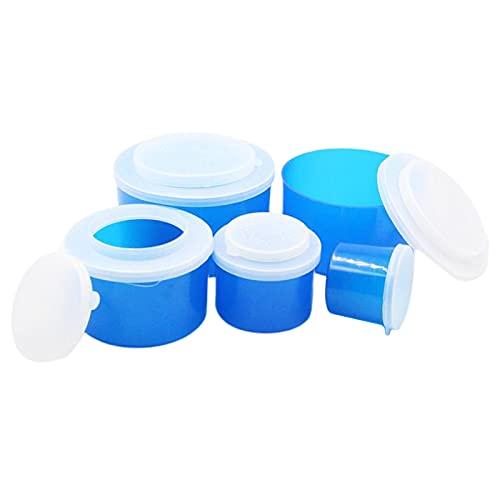 Colcolo Caja de Cebo de Pesca de Plástico para Lombrices de Tierra con Orificios de Ventilación