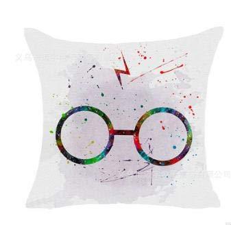 Fugift Home Decorativo Harry Potter Style Sofá Funda