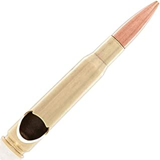 REAL 50 Caliber Bottle Opener Made in the USA By Lucky Shot - Flag Bag Included