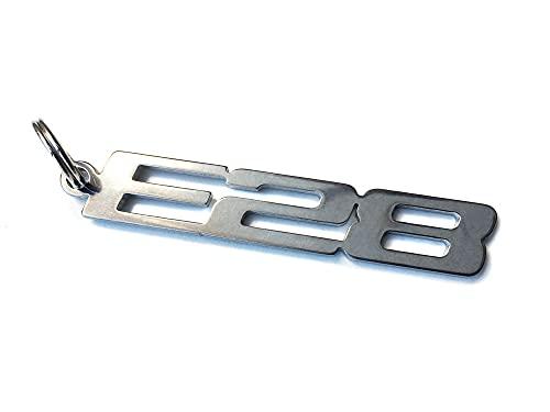 E28 emblème porte-clés en acier inoxydable de haute qualité