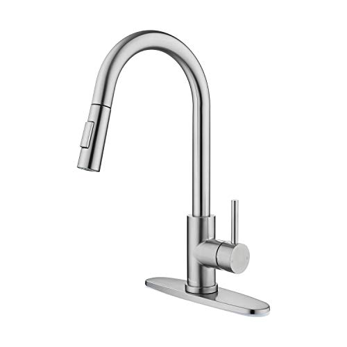 Tohlar Kitchen Sink Faucets with Pull-Down...