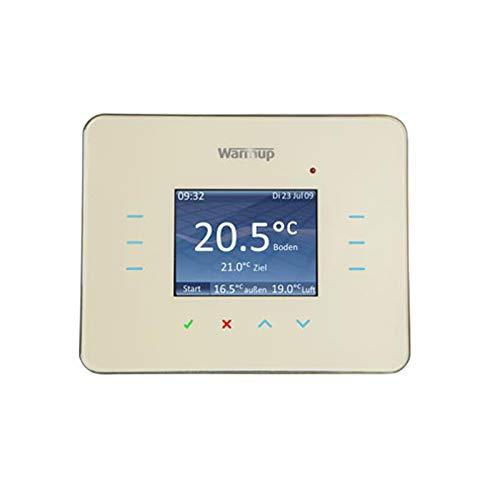 Creme Unterputz Thermostat Thermostatschalter Temperaturschalter 3iE Warmup