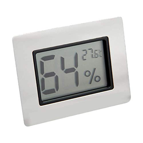 Hochwertige Zigarrenschachtel Metallhülle Elektronische Digitalanzeige Temperatur- Und Feuchtigkeitsmesser Einfaches Trocken- Und Nassthermometer Temperatur- Und Feuchtigkeitsmesser