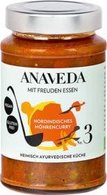 Anaveda Bio Eintopf Nr. 3 Nordindisches Möhrencurry - vegan - 390 g Glas