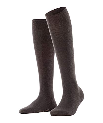 FALKE Damen Socken, Softmerino W KH-47438, Braun (Dark Brown 5239), 39-40