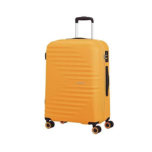 American Tourister Wavetwister Valigia trolley (4 ruote) giallo 66 cm
